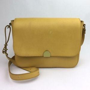 Madewell Abroad Leather Shoulder Bag